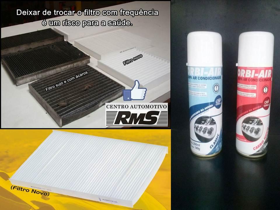 Promoção de filtros de cabine e higienização